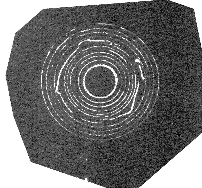 Ondes gravitationnelles occulaires négatives